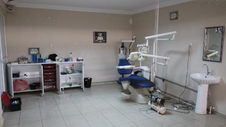 Elazığ'da kaçak diş kliniğine operasyon