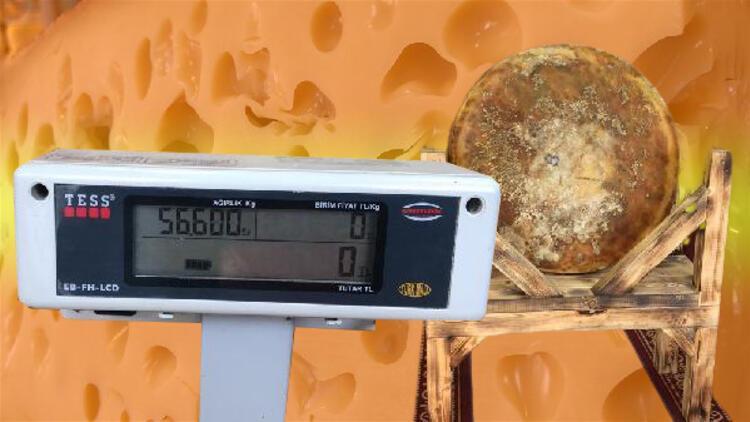 1400 litre sütten üretildi! Kilosu 120 TL