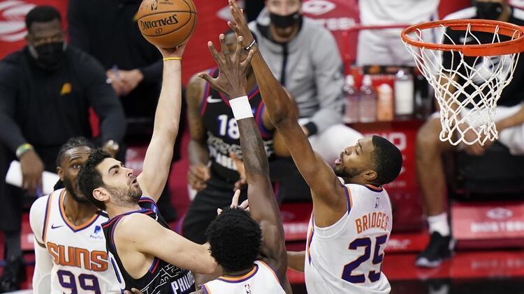 NBA'de Gecenin Sonuçları: Furkan Korkmaz'ın 12 sayısı 76ers'ı yenilgiden kurtaramadı