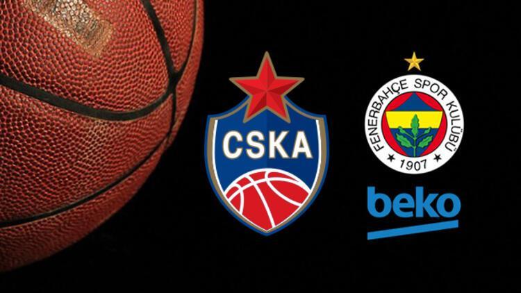 CSKA Moskova Fenerbahçe Beko maçı ne zaman, saat kaçta ve hangi kanalda?