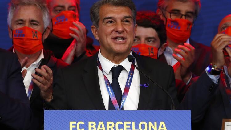 """Barcelona Başkanı Joan Laporta: """"Avrupa Süper Ligi bir zorunluluk..."""""""