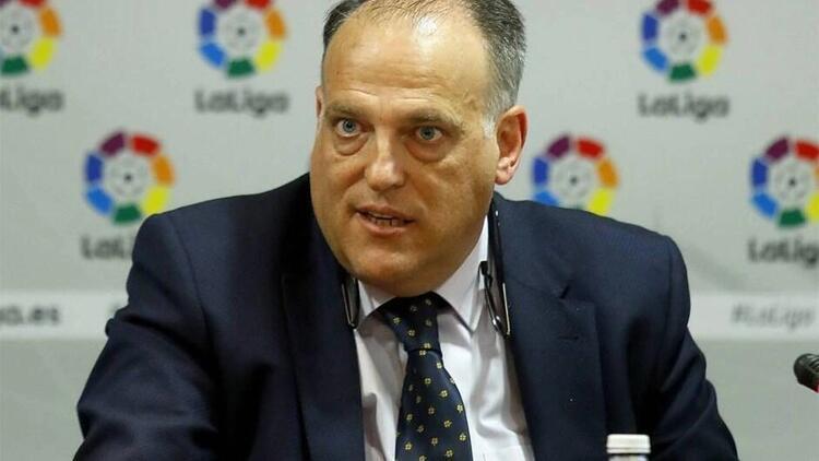 """LaLiga Başkanı Tebas: """"Infantino ile ilgili çok ciddi şüphelerim var..."""""""