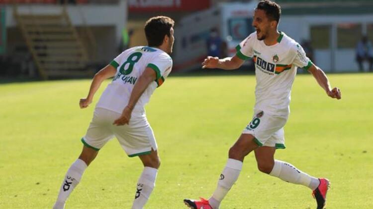 Alanyaspor 3-2 Gaziantep FK (Maç özeti ve golleri)