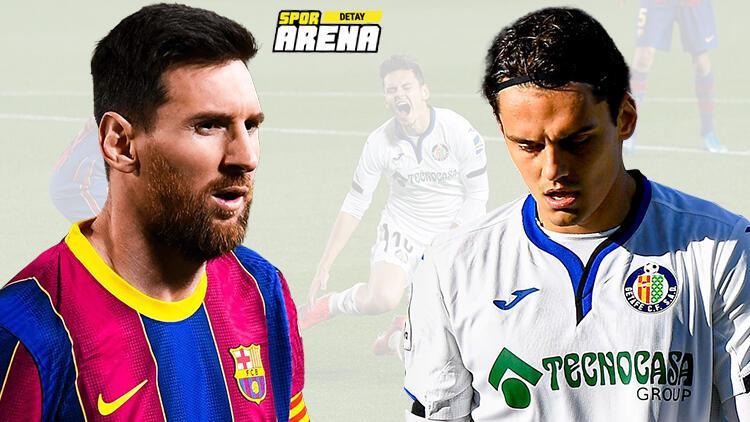Cam Nou'da gol yağmuru! Messi tarihe geçti, Enes Ünal gönülleri fethetti...