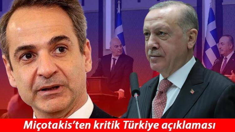 Miçotakis'ten Erdoğan açıklaması: Gerçekten konuşmamız gerekiyor