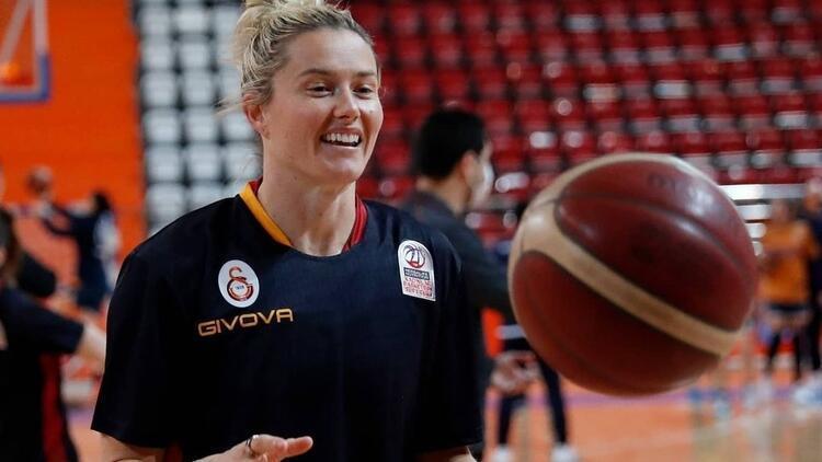 Son dakika: Galatasaray'da Samantha Whitcomb sezonu kapattı!