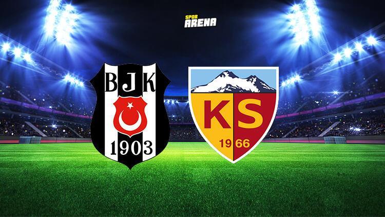 Beşiktaş Kayserispor maçı ne zaman, saat kaçta ve hangi kanalda?