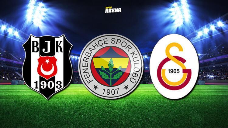 Galatasaray'ın, Beşiktaş'ın ve Fenerbahçe'nin kalan maçları hangileri? İşte Beşiktaş, Fenerbahçe ve Galatasaray'ın fikstürü