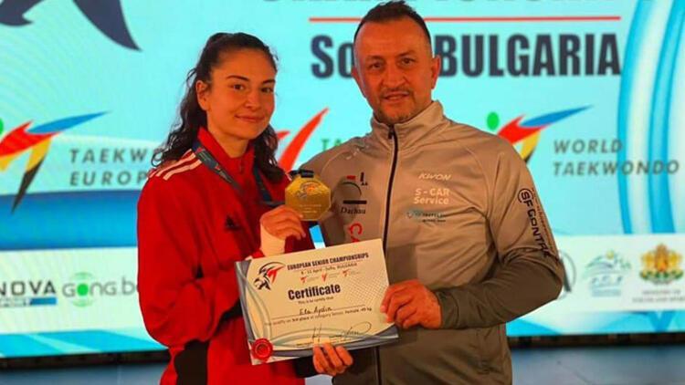 Ela Aydın Almanya'ya bronz madalya kazandırdı