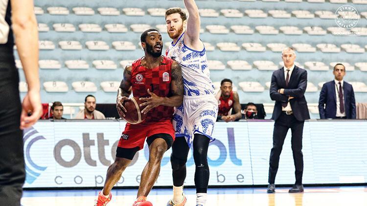 Büyükçekmece Basketbol 71-90 Empera Halı Gaziantep Basketbol