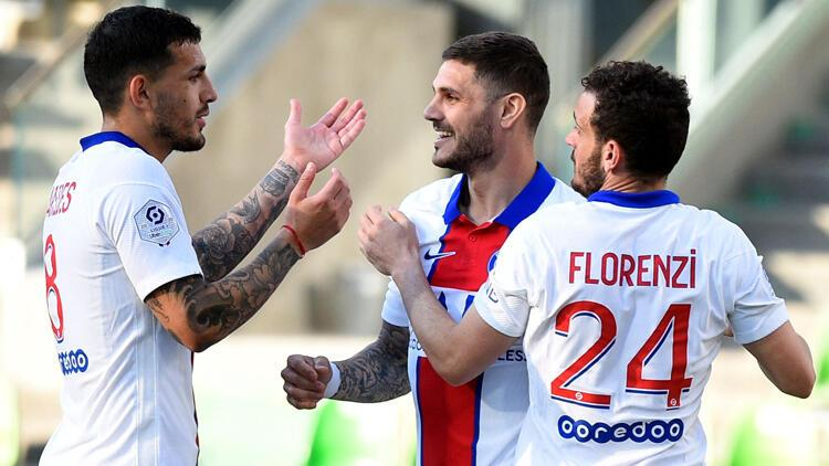 Metz'i yenen PSG, maç fazlasıyla zirveye çıktı