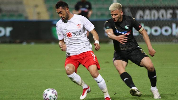Denizlispor 1 - 1 Sivasspor (Maç özeti)