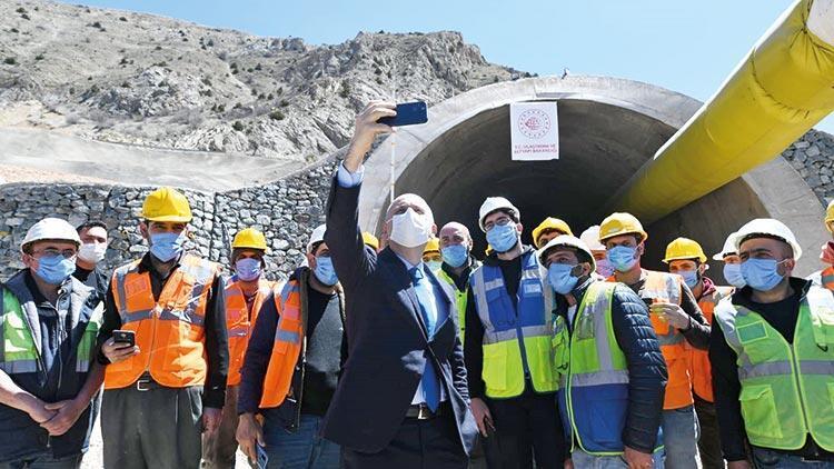 Bakan Karaismailoğlu: 2023'e kadar 650 kilometre tünelimiz olacak
