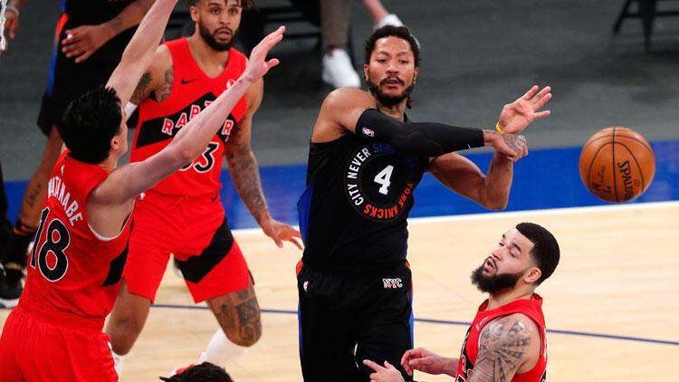 NBA'de gecenin sonuçları: New York Knicks'ten art arda 9. galibiyet!