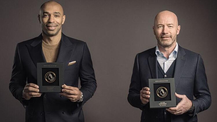 Premier Lig'de Şöhretler Müzesi'nin ilk üyeleri Shearer ve Henry