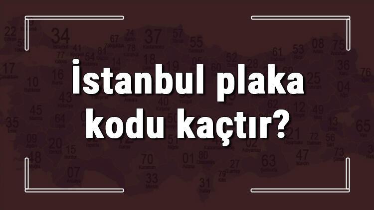 İstanbul plaka kodu kaçtır? İstanbul ve ilçelerinin plaka harfleri