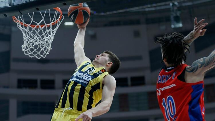 Fenerbahçe Beko'nun Euroleague'de konuğu CSKA Moskova