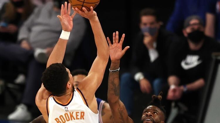 NBA'de Gecenin Sonuçları: Knicks'in galibiyet serisine Suns son verdi