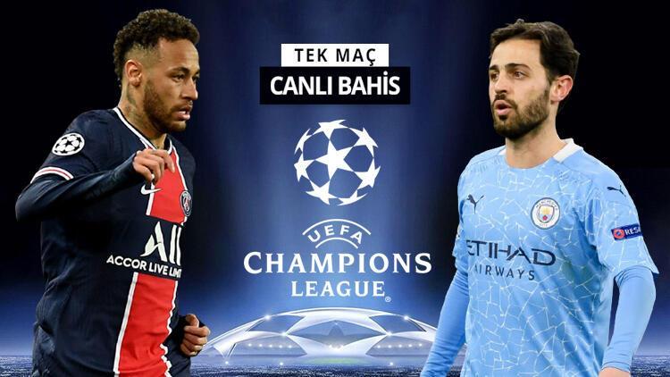 Paris'te DEV kapışma, iddaa'da TEK MAÇ! Manchester City'nin PSG karşısında oranı...