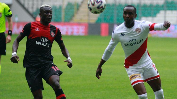 Fatih Karagümrük 2-2 Antalyaspor (Maçın özeti ve goller)