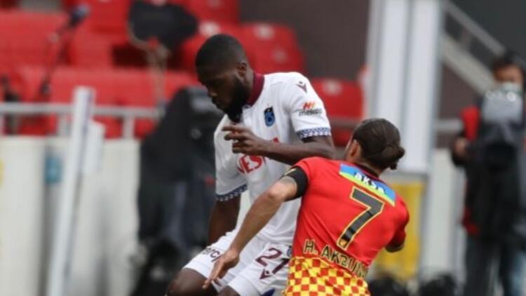 Göztepe 1-1 Trabzonspor (Maç golü ve özeti)