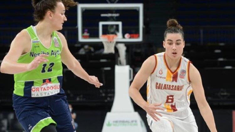 Nesibe Aydın 73-81 Galatasaray (Seride durum 2-1e geldi)