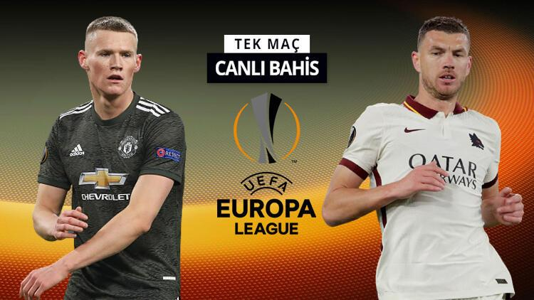 UEFA Avrupa Ligi'nde yarı final zamanı! Roma'nın Manchester deplasmanında iddaa oranı...