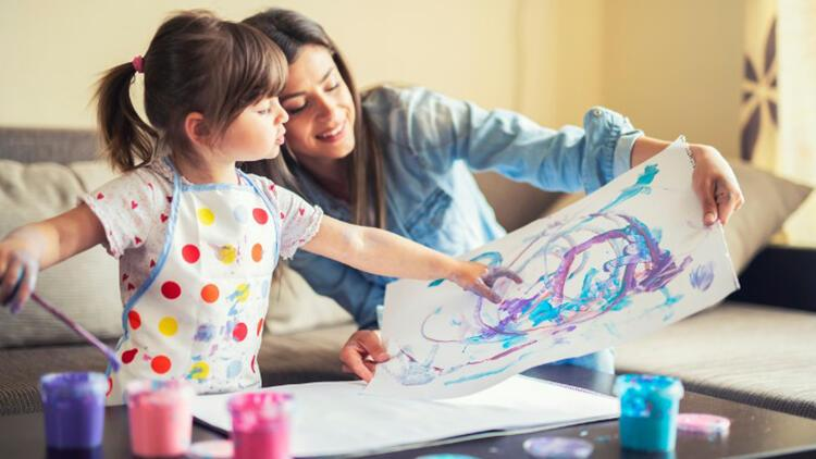 Çocuklarınız tam kapanma sürecini sanat aktiviteleriyle hareketli geçirsin