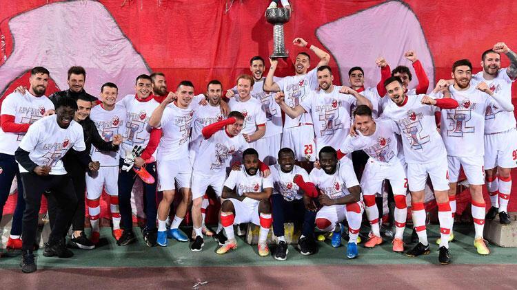 Sırbistan'da Kızılyıldız şampiyonluğu garantiledi!