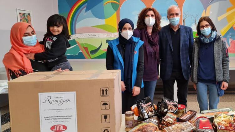 DİTİB'den İtalya'daki mültecilere ramazan yardımı
