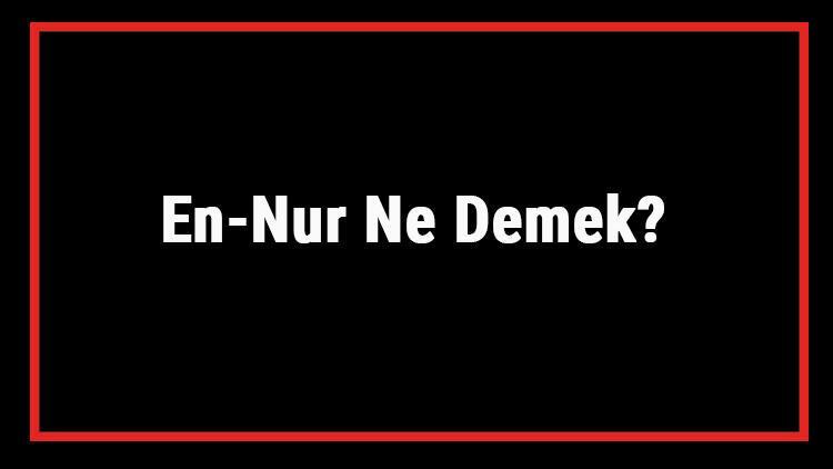 En-Nur Ne Demek? En Nur Esması Türkçe Anlamı Ve Ya Nur Zikrinin Fazileti İle Faydaları