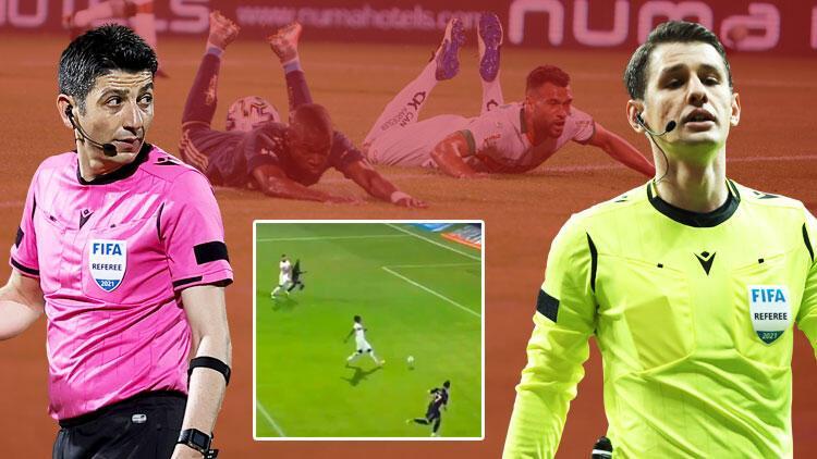 Fenerbahçe kural hatası için başvurmuştu.. Türkiye bunu konuşuyor: Ofsayt mı, penaltı mı?