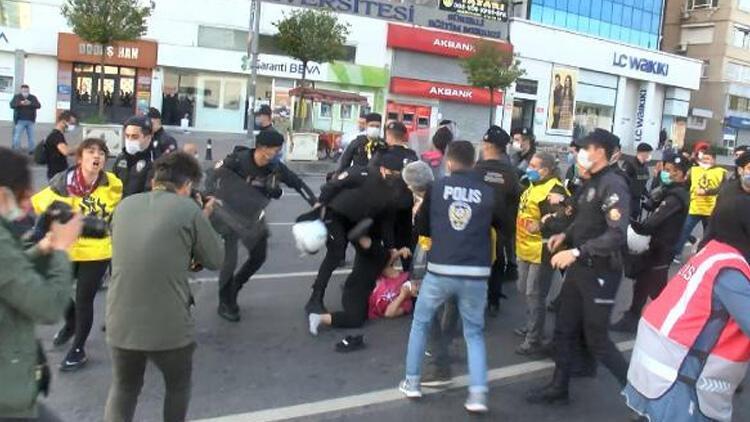 Taksim'e yürümek isteyen gruplar gözaltına alındı