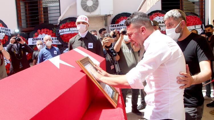 Şehit Uzman Çavuş Mehmet Kırmızı, son yolculuğuna uğurlandı