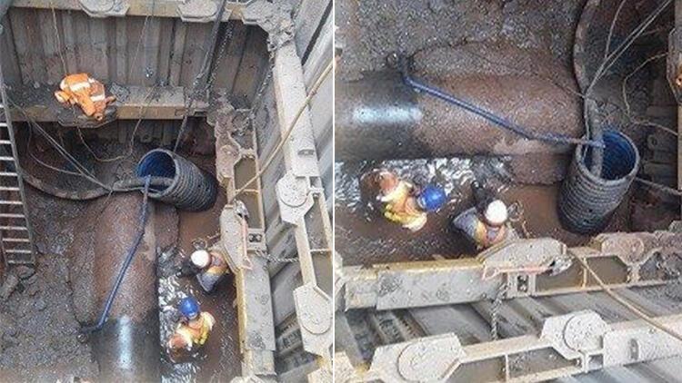 İngiltere'de akılalmaz görüntü: 300 tonluk yağ kütlesi şehir kanalizasyonunu tıkadı!