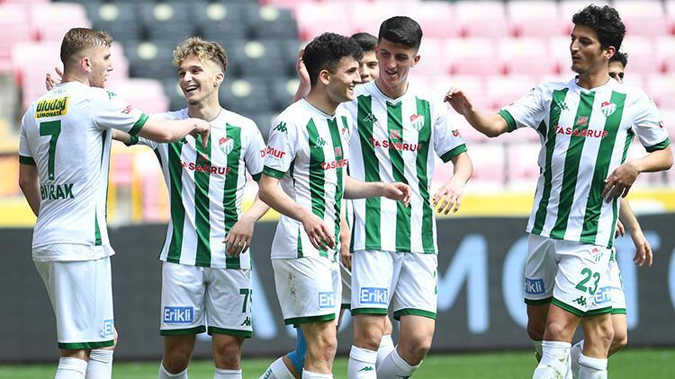 Eskişehirspor 1 - 5 Bursaspor (Maç özeti)