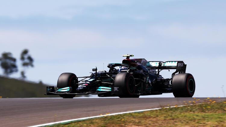 F1 Portekiz Grand Prix'sinde pole pozisyonu Bottas'ın