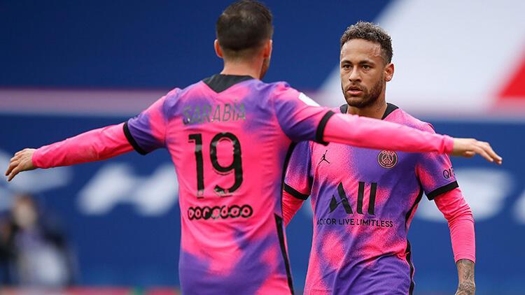 PSG 2 golle kazandı, Lille'i beklemeye geçti!