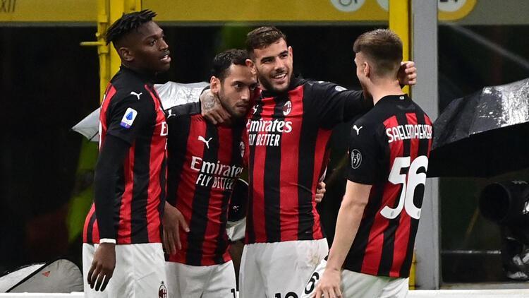 Hakan Çalhanoğlu gol attı, Milan kazandı