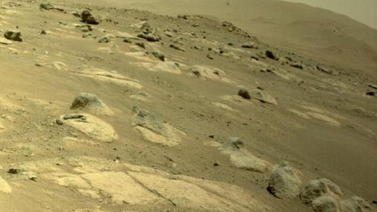 NASA paylaştı: Mars helikopteri 4. uçuşunu 117 saniyede tamamladı