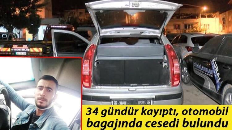 Sinan Sönmez 34 gündür kayıptı, otomobil bagajında cesedi bulundu! Sır olayda 5 gözaltı