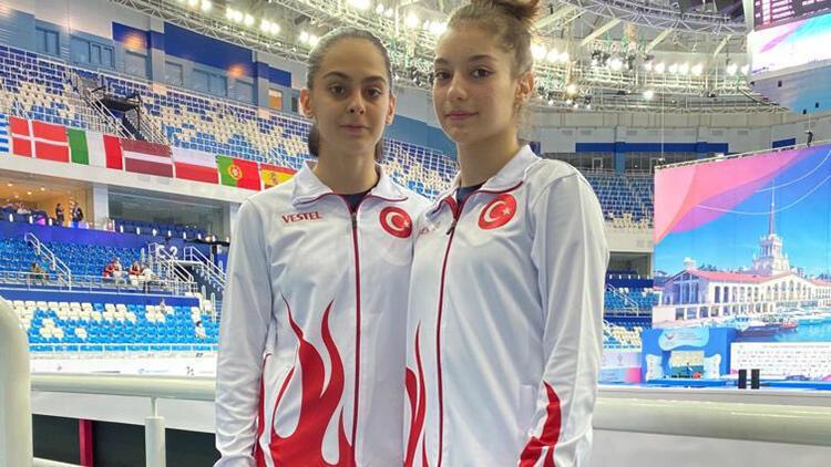 Elif Çolak'tan cimnastikte tarihi başarı! Trampolinde ilk madalya...