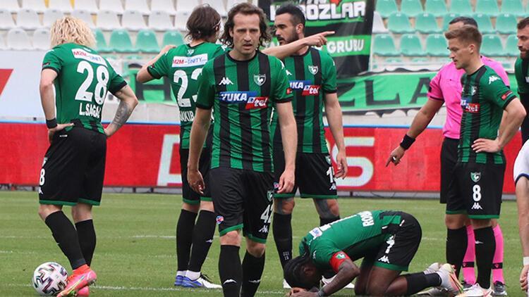 Son dakika: Denizlispor Süper Lig'de küme düşen ilk takım oldu