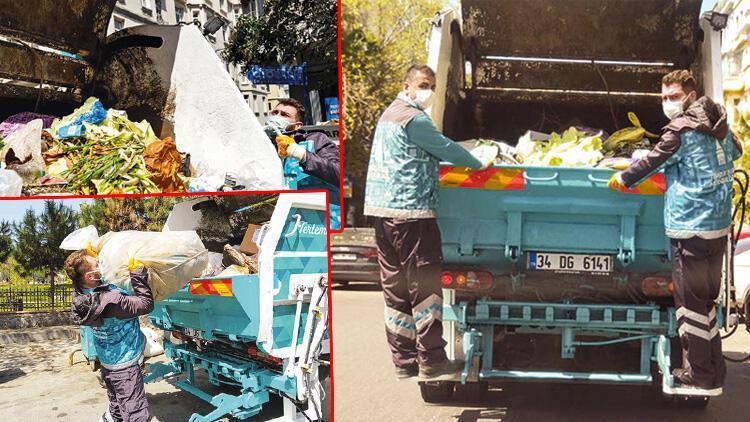 Çöpteki gıda israfı üzüyor!
