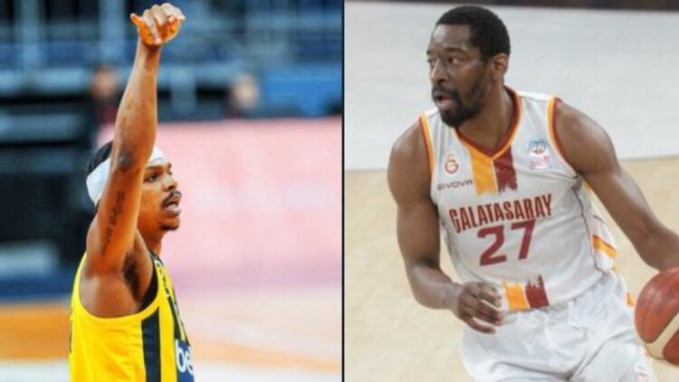 Basketbol Süper Ligi'nde erteleme maçında Fenerbahçe'nin konuğu Galatasaray