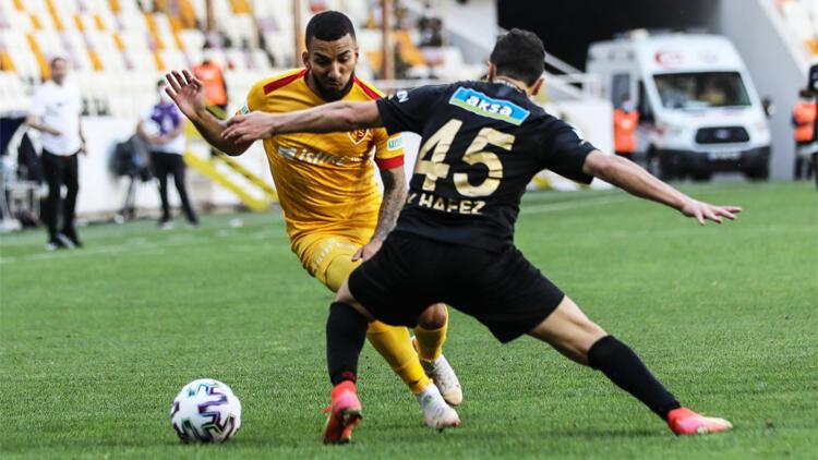 Yeni Malatyaspor 1-1 Kayserispor