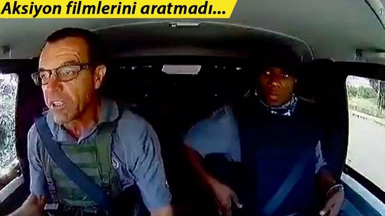 Kahraman şoför saldırganlara böyle karşı koydu