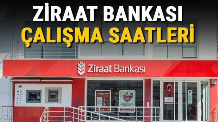 Ziraat Bankası çalışma saatleri 2021 - Ziraat Bankası saat kaçta açılıyor, kaçta kapanıyor? Öğle arası açılış ve kapanış saatleri