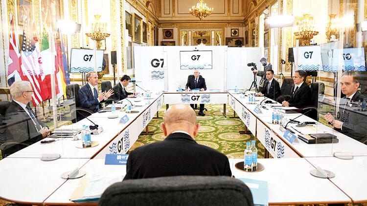 G-7 paravanlar arkasında buluştu