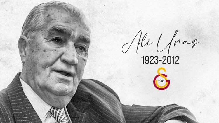 Galatasaray, eski başkanlarından Ali Uras'ı andı